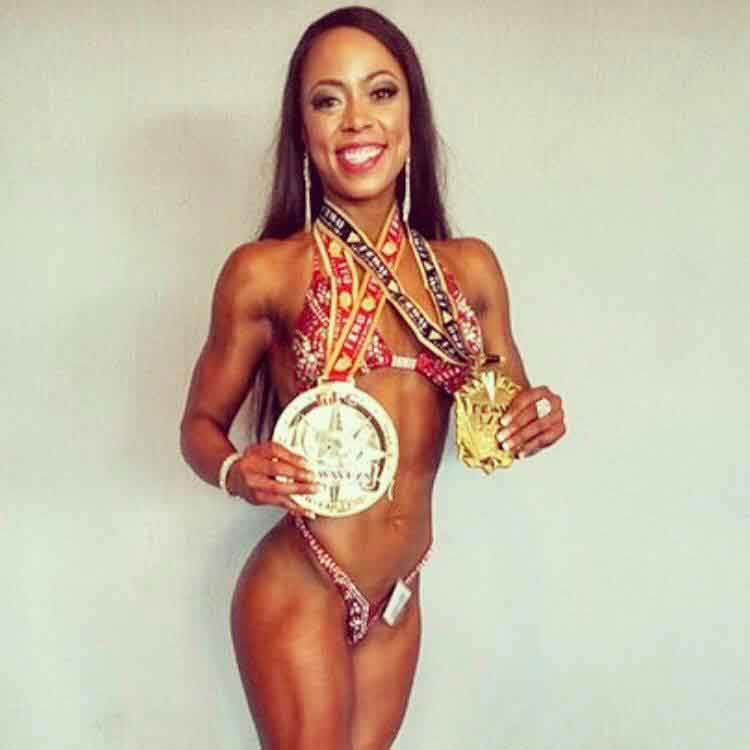 Natashia is an NPC figure competitor and Glam Girl Bikini client