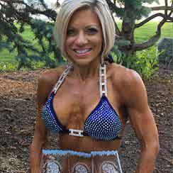 Shelly Inda, bikini and figure competitor